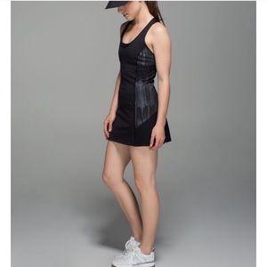 Lululemon Ace Dress Sz 4 Scratch Match Black RARE!